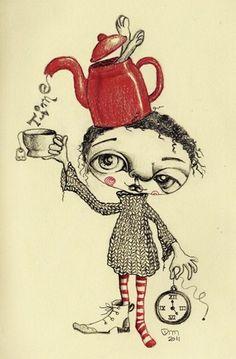 süß: Zeit in einer Teekanne 10201