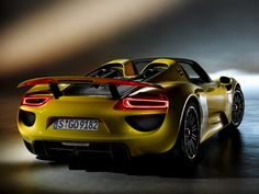 2014 Porsche 918 Spyder is going to be one of the most expensive cars on the road. But which is going to be the most expensive? Click the image to see... #Lamborghini, #Bentley #Ferrari???