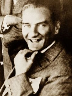 Great leader of Turkish people: Mustafa Kemal Atatürk