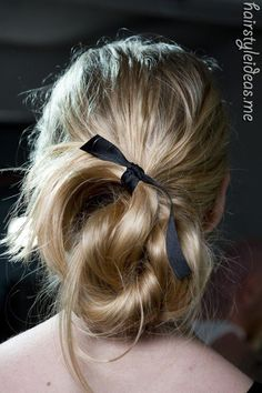 bun (saw dis on http://hairstyleideas.me )