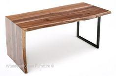 Sale 20 Off Live Edge Catalpa Wood Slab Dining Table