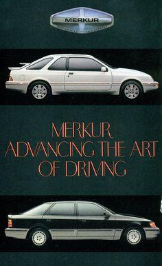1987 Merkur XR4Ti and Scorpio