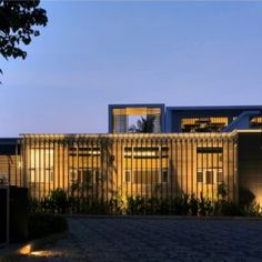 A Stunning Private Villa in Khandala Valley Exposed Concrete, Exposed Brick, Grid Architects, North Garden, Hidden House, Screen House, Stone Cladding, Garden Spaces, Interior And Exterior