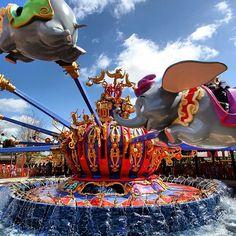Dumbo in New Fantasyland, Walt Disney World.