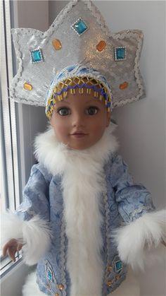 """Бывает ли загорелая Снегурочка? / 18"""" твердонабивные куклы - American girl, Journey girls и аналоги / Бэйбики. Куклы фото. Одежда для кукол"""