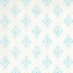 Gem Yellow Fabric By The Yard : Modern Graphic at PoshTots