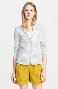 Burberry Brit 'Barnet' Stripe Jacket available at #Nordstrom