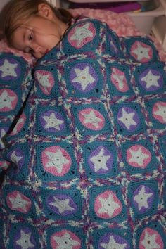 star crochet blanket