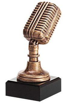 Microfoon trofeeën