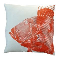 Persimmon Dory Pillow