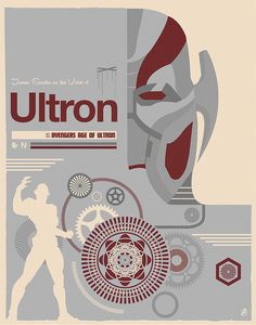 "by Matt Needle  The Poster Posse Pays Tribute To ""Marvel's Avengers: Age Of Ultron"" by Creator Poster Posse"