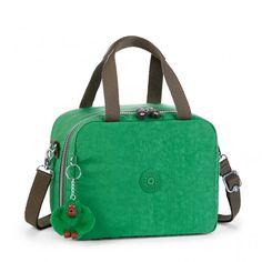 Kipling Back to School Miyo Lunchbag mit Trolleylasche Mojito Green C
