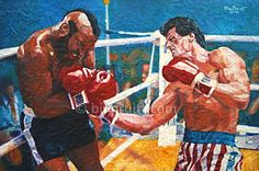 Sylvester Stallone Rocky Balboa Rocky 3 Clubber by billpruittart, $15.00