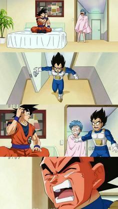 Dragon Ball Super: Bulma, Vegeta and Goku