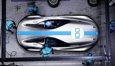 Aston Martin CC100 Speedster Concept - Design Sketch