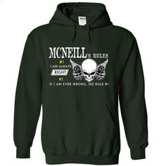 MCNEILL RULE\S Team .Cheap Hoodie 39$ sales off 50% onl - #tie dye shirt #off the shoulder sweatshirt. BUY NOW => https://www.sunfrog.com/Valentines/MCNEILL-RULES-Team-Cheap-Hoodie-39-sales-off-50-only-19-within-7-days-55963225-Guys.html?68278