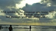 God's language..