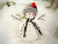 Your place to buy and sell all things handmade Snowman Ornaments, Christmas Snowman, Handmade Christmas, Christmas Holidays, Christmas Ornaments, Snow Men, Pink Cheeks, Make Happy, Holiday Tree