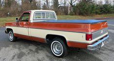 1976 Chevrolet Silverado | Connors Motorcar Company C10 Trucks, Pickup Trucks, Chevrolet Trucks, Chevrolet Silverado, Metallic Bodies, Two Tone Paint, Tonneau Cover, Square Body, Gasoline Engine
