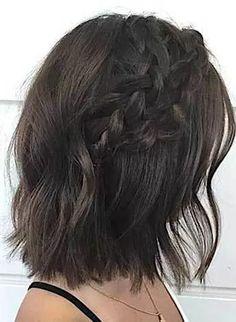 Elegant Ideas of Braided Short Hairstyles Trends 2017-2018.