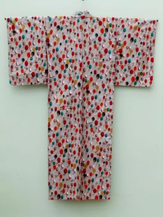 ☆ New Arrival ☆ 'Tutti Frutti' #women's #antique #meisen #silk #kimono #colourful #charming #pattern like #jellybeans from #FujiKimonohttp://www.fujikimono.co.uk/fabric-japanese/tutti-frutti.html #textile #costume #fashion #kawaii #cosplay #stylish #HammersmithVintageFair #HyperJapan #TuttiFrutti