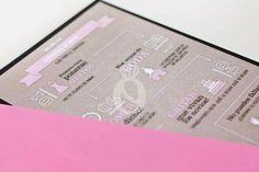 Stop & Dream   Invitación de boda · Wedding card: Craft Wedding