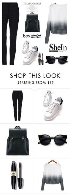 """SheIn contest"" by odlicn ❤ liked on Polyvore featuring Max Factor and shein"