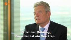 Herr Gauck, wer hat denn Sie gewählt? › Der BRD-Schwindel und ihre mätresse schadt ist nicht die first lady ich finde ihr verhalten gegenüber einem gewählten präsident putin dreist und arrogant.als pfarrer haben sie versagt und als bundespräsident haben sie sich nach ihren äußerungen disqulifiziert sie sollten besser verschwinden.