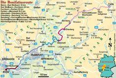 Bonifatius Weg (Fulda - Mainz/Mayence)