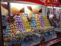 Pokemon Photos from Tokyo - Glaceon Espeon Flareon Jolteon plush dolls crane game