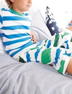 Mini Boden Boys Pajamas.