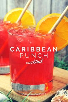 Punch Recipe Transport yourself to a sunny and relaxing destination with this tropical fruit and coconut rum Caribbean Punch cocktail.Transport yourself to a sunny and relaxing destination with this tropical fruit and coconut rum Caribbean Punch cocktail. Liquor Drinks, Cocktail Drinks, Vodka Cocktails, Vodka Slush, Rum Cocktail Recipes, Summer Drink Recipes, Martinis, Tropical Drink Recipes, Vodka Tonic
