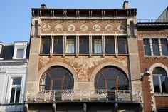 Hôtel Ciamberlani | Defacqzstraat 48, 1050 Brussel | - ART NOUVEAU - Paul Hankar -