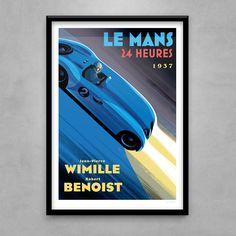 Guy Allen — Wimille / Benoist - Le Mans 1937