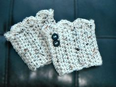 Crochet Boot Cuffs Knit Boot Cuffs Leg Warmer Boot Socks Choose your color on Etsy, $15.00