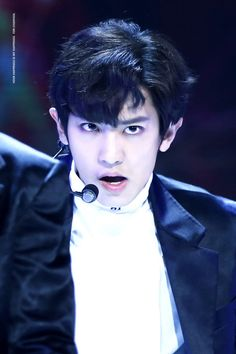 Chanyeol - 161101 SBS Power FM 20th Anniversary Concert  Credit: Your Happiness Is My Happiness. (SBS 파워FM 20주년 콘서트)