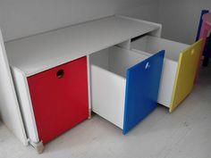 Cajones colore muebles infantiles | OTROS