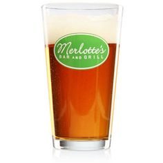 Merlotte's pint glass... just pour in your favorite blood type ;)