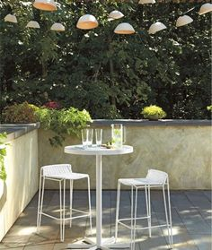 Penelope Bar Table and Stools