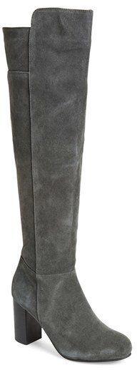 """Pin for Later: Ein Paar dieser Schuhe bringt euch stylisch durch den ganzen Winter  Kensie """"Ginette"""" Over the Knee Stiefel mit stabilem Absatz (149 €)"""