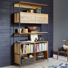 west elm's office storage solutions include office bookcases and file cabinets. Find office storage that complements our home office furniture collections. Home Office Furniture, Cheap Furniture, Furniture Plans, Modern Furniture, Furniture Storage, Furniture Nyc, Furniture Websites, Furniture Online, Discount Furniture