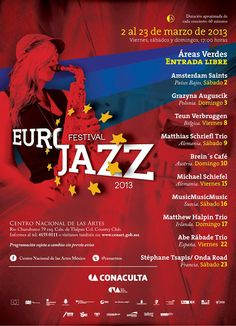 EuroJazz 2013 en el CENART