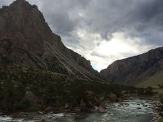 Clark's fork River canyon