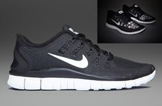 98be7a74c1a0a Nike Free 5.0+ Shield - Mens Running Shoes - Black-Reflective Silver-Summit
