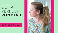 Learn how to master the perfect voluminous ponytail with a few tips and tricks.