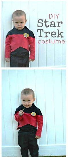 DIY Halloween Kids Costumes DIY Star Trek Halloween Costume