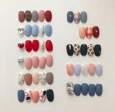 Shellac Nails, Matte Nails, Diy Nails, Swag Nails, Korea Nail Art, Water Nail Art, Korean Nails, Beautiful Nail Designs, Nail Art Diy