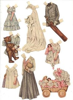 Betty Bonnet Paper Dolls 2. | Flickr - Photo Sharing!