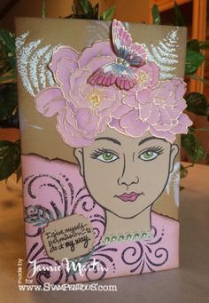 Stamp This- #Stampendous and #DreamweaverStencils,  what a great combination! #cre8time