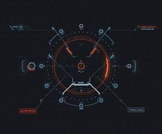 Quantum HUD Infographic Pack on Behance: